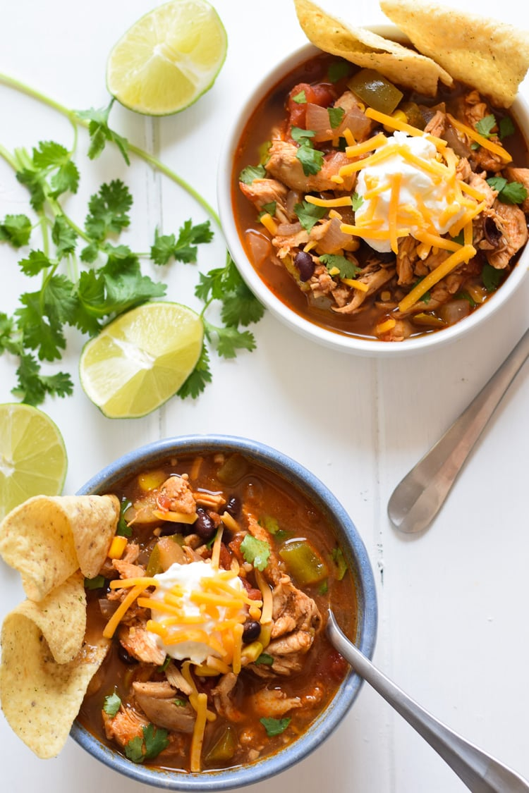 Mexican chicken tortilla soup isabel eats this mexican chicken tortilla soup has the perfect amount of spice alongside a healthy serving of vegetables all in a warm comforting broth forumfinder Choice Image