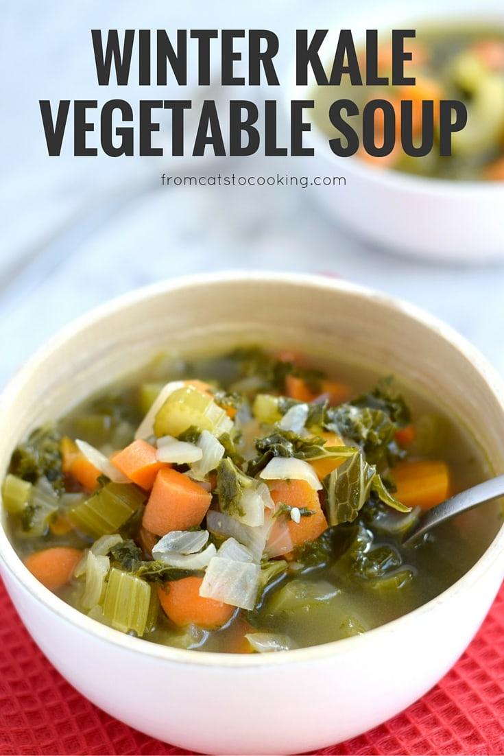 Winter Kale Vegetable Soup Isabel Eats