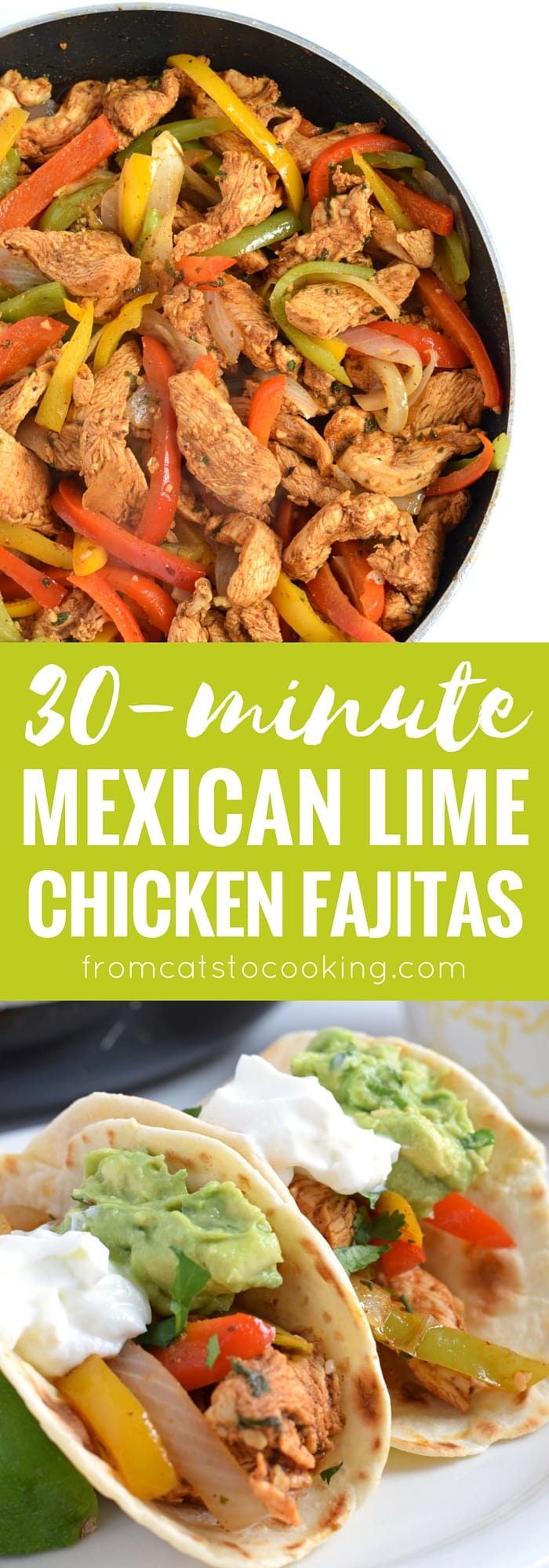 30 minute mexican lime chicken fajitas easy guacamole isabel eats make these mexican lime chicken fajitas in only 30 minutes and this forumfinder Image collections