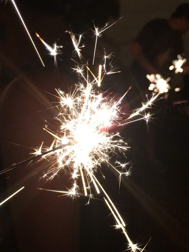 tuesday things sparklers